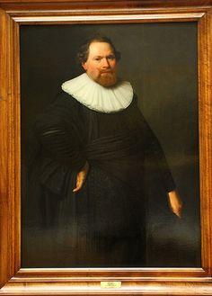 Nicolaes Elias Pickenoy (attr.), Portrait of a man, Louvre