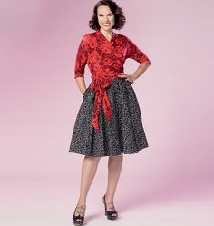 Butterick Pattern 6285 @sewgertiesew is included FREE with Dressmaker issue 19! Find our top tips inside the mag to ensure you get the best finish for your make! #Dressmaking #Sewcialists