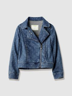 #veste #denim #fille - Collection Printemps-Eté 2016 - www.vertbaudet.fr
