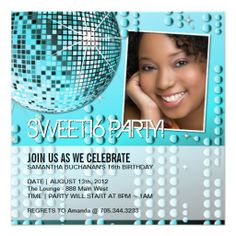 $$$ This is great for          	Glamourous Sweet Sixteen Disco Ball Invitation           	Glamourous Sweet Sixteen Disco Ball Invitation We have the best promotion for you and if you are interested in the related item or need more information reviews from the x customer who are own of them befor...Cleck Hot Deals >>> http://www.zazzle.com/glamourous_sweet_sixteen_disco_ball_invitation-161176166631892096?rf=238627982471231924&zbar=1&tc=terrest
