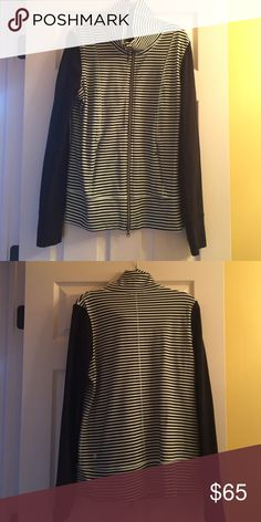 Lululemon Striped Zip Up Feel free to offer and/or ask any questions! lululemon athletica Jackets & Coats