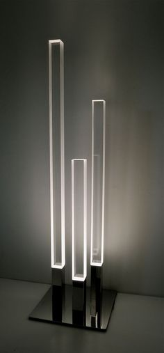 This floor lamp sculpture. | 21 Minimalist Products That Might Turn You On