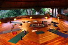 There are so many kinds of Yoga that are known and practiced by many as of today. One if this is Tantra Yoga. Yoga Meditation, Meditation Rooms, Yoga Rooms, Yoga Spaces, Yoga Studio Design, Casa Patio, Yoga At Home, Yoga Retreat, Zaha Hadid