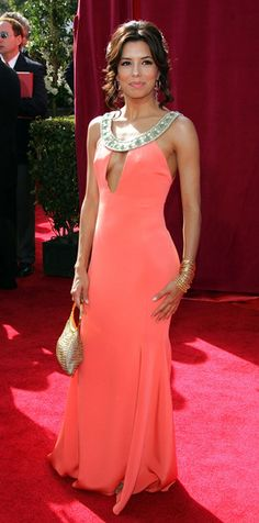 Eva Longoria beautiful dress worn at the 57th Emmy award