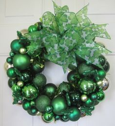 St Patrick's Day ornamental wreath $49.95