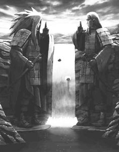 Final Valley / Shuumatsu no Tani (終末の谷) | Hashirama Senju (千手柱間) & Madara Uchiha (うちはマダラ) | NARUTO (ナルト)
