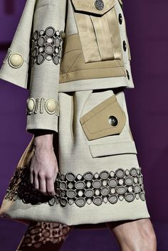 The textures combo. I am not into this colors Spring 2015 Ready-to-Wear - Marc Jacobs