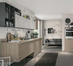 #kitchen #design #interior #furniture #furnishings комплект в кухню Cucine Lube Immagina, CLIH03BG