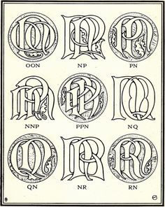 Más tamaños | Monograms & Ciphers by AA Turbayne 1912 i | Flickr: ¡Intercambio de fotos!