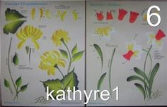 donna dewberry RTG | Donna Dewberry One Stroke Year of Flowers RTG November: Chrysanthemum ...