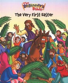 """The Very First Easter"" uses colorful illustrations and child-friendly text to introduce little ones to the most marvelous story of all time. #Easter #resurrection #books #BeginnersBible"