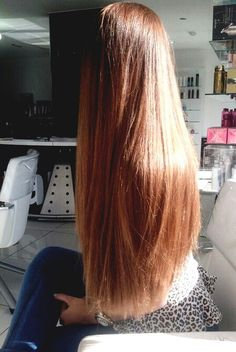 Within the next year my goal is to get my hair that long