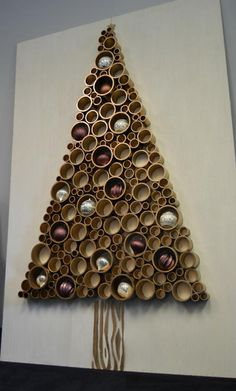 PVC Pipe Christmas Tree                                                                                                                                                                                 More