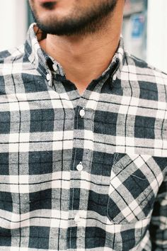 Dope Plaid Shirt for Men