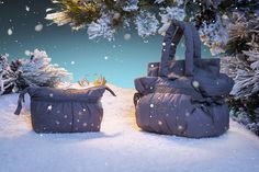 An unique Holiday Season with #Repetto Dance bags decorated with stars www.repetto.com