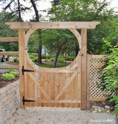 Make your garden iconic with a gorgeous DIY gate- check out these beauties for inspiration.