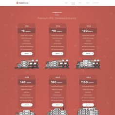 Cloud hosting design by mazekey