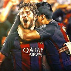 Sergi Roberto, Fc Barcelona, Messi, Fictional Characters