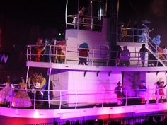 Disney removes Character Steamboat scene from Fantasmic