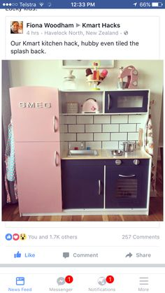 Kmart Kitchen Replace Countertop The 14 Best Kid Images On Pinterest Toy Hack Ikea Play Wooden Kids