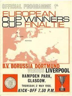 LIVERPOOL V BORUSSIA DORTMUND 1966 (ECWC FINAL) FOOTBALL PROGRAMME