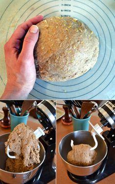 Magic Multigrain Whole Wheat Sandwich Bread Recipe