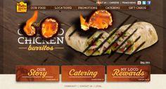 El Pollo Loco website