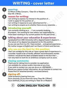 Hellolearnenglishwithantriparto: U201c How To Write A Cover Letter In English U201d  Write A Cover Letter