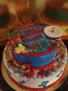 """Musical Instruments"" Birthday Cake -Bittersweet Bake Shoppe - Tyngsboro, Massachusetts"