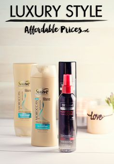 Save On Your Entire Hair Routine With Suave & TRESemmé! Luxury style with affordable prices.