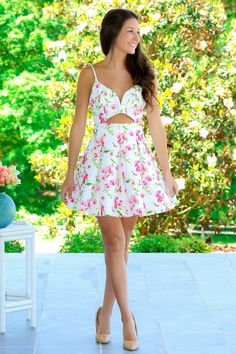Field Of Wildflowers Dress - Dresses | The Red Dress Boutique