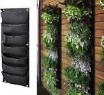 7-pocket Hanging Vertical Garden Planter For Walls ...