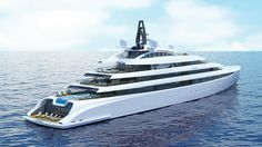 110m superyacht concept revealed by The A group - Yacht Harbour