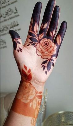 Wedding Henna Designs, Rose Mehndi Designs, Engagement Mehndi Designs, Indian Mehndi Designs, Modern Mehndi Designs, Mehndi Designs For Girls, Beautiful Henna Designs, Mehndi Designs For Fingers, Latest Mehndi Designs