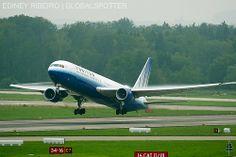 BOEING 767-300ER UNITED AIRLINES | ZURICH | ZRH-LSZH