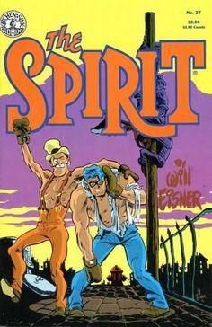 Ragged Shir - Black Galsses - Fire Hydrant - Trashcan Lid - Boxing Gloves - Brian Bolland, Will Eisner