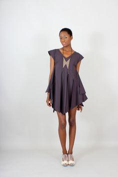 Fan Dress by lizarietz on Etsy