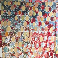 """patternprints journal: BEAUTIFUL PATTERNS INTO """"HOMAGE TO THE SEED"""", PAINTINGS BY SOPHIE MUNNS"""