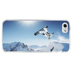Snowboarding phone case hard #cover #(fits #iphone 4 4s 5c 5 5s 6 6+) #001, View more on the LINK: http://www.zeppy.io/product/gb/2/161805378345/