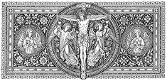 Catholic Missal, Catholic Art, Religious Art, Roman Catholic, Universal Life Church, Church Logo, Bible Illustrations, Christ The King, Artwork Images