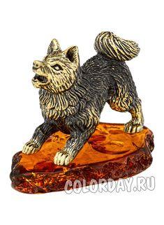 "фигурка ""Сибирская Лайка"" Baltic Amber, Lion Sculpture, Statue, Art, Kunst, Sculpture, Art Education, Artworks"