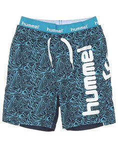 Hummel Fashion WADE BERMUDA SS16 – Shorts – Blå