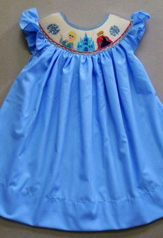 Disney Princess Smocked Dress by PleatsAndStitches on Etsy ...