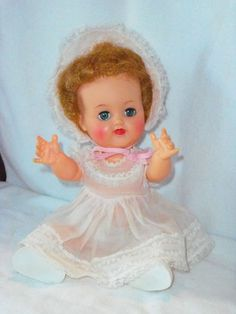 Vintage Ideal Betsy Wetsy Doll VW-2 #Dolls | n.b. - her markings vw-3, also marked 17, but haven't found what that refers to.