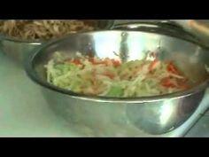 Como hacer sandwich de pollo al estilo Salvadoreno - YouTube