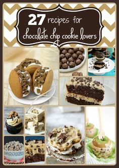 27 recipes for choco