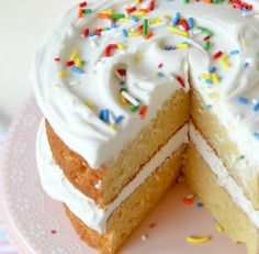 Twinkie Layer Cake recipe.  If you like Twinkies — make the cake.  It's seriously FABULOUS and as close to a giant Twinkie as you'll ever get.