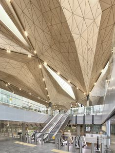 New Terminal at Pulkovo International Airport by Grimshaw.