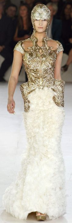 Alexander McQueen 2012 spring and summer womens clothing