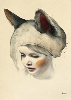 Where the Wild Things Are - Kareena Zerefos  http://www.kareenazerefos.com/art/